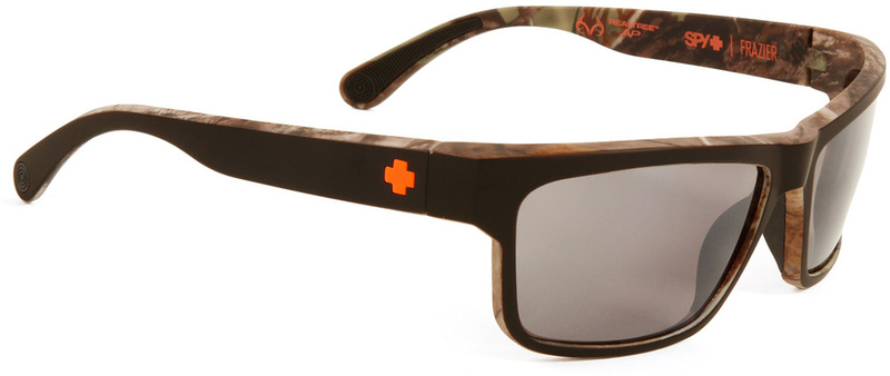Spy Decoy Sunglasses Happy Bronze Polarised Black Mirror