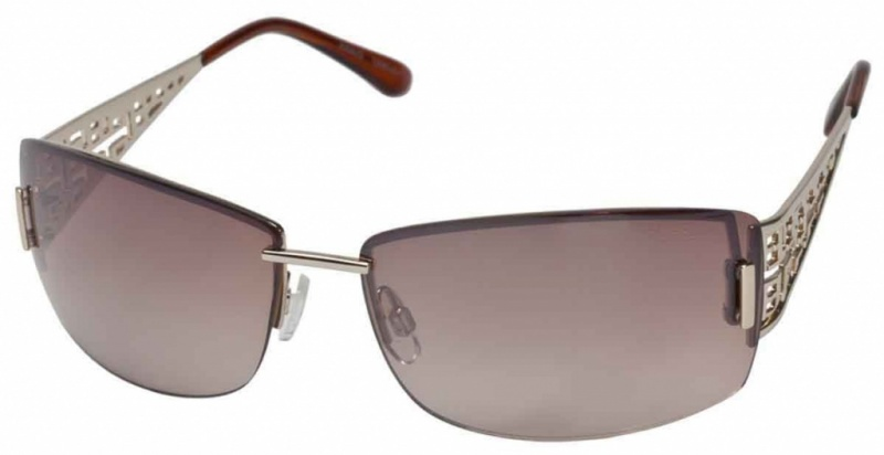 Fiorelli Anais Gold with Brown Grad Flash Mirror Lenses