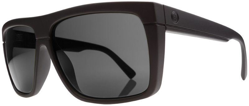 Electric BlackTop Sunglasses Matte Black with CR39 Melanin Grey