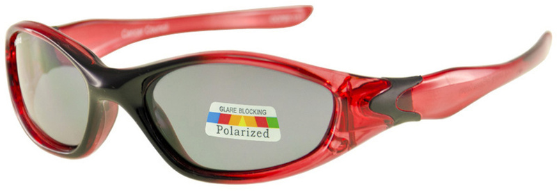 Cancer Council Sunglasses Red Black Fade, Grey Lenses