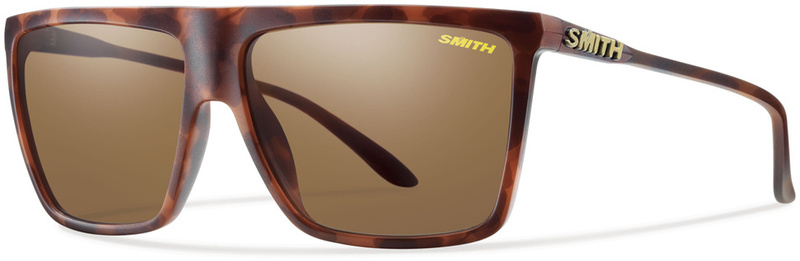 Smith Optics Cornice Matte Tort Sunglasses Brown Polarised Lenses