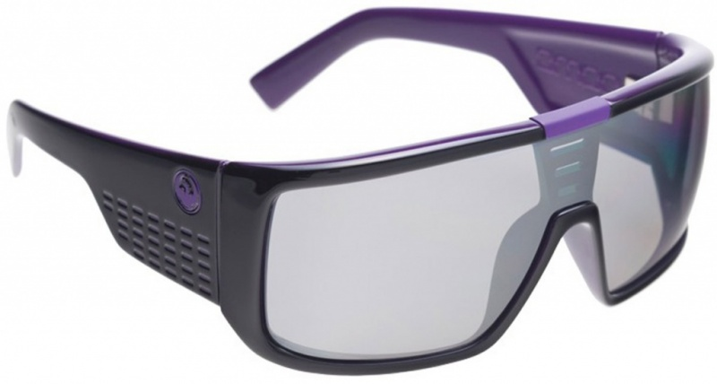 Dragon Domo Purple with Grey Ionized Lenses