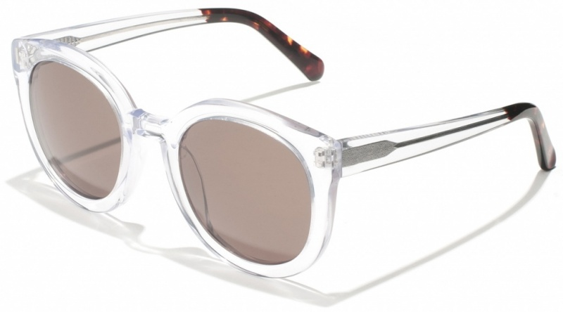 Epokhe OHA Clear Crystal Gloss with Grey Lenses