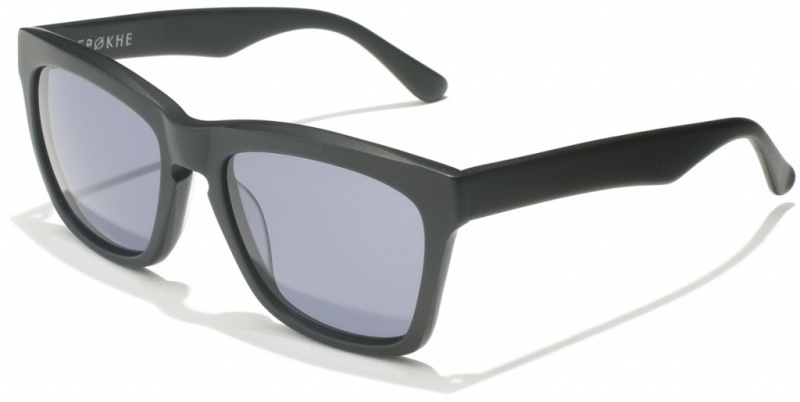 Epokhe Renaca Black Matte with Grey Lenses