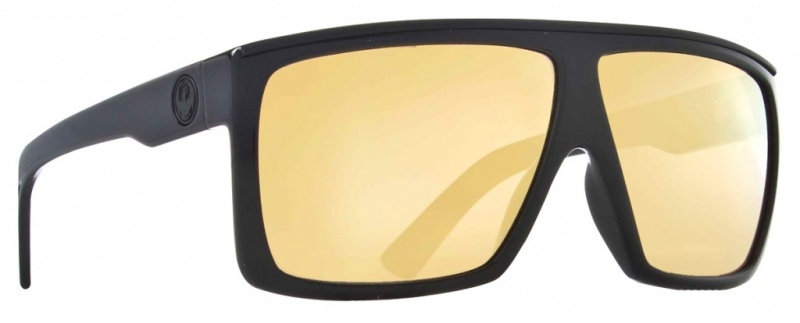 Dragon Fame Black Gold with Gold Ionized Lenses