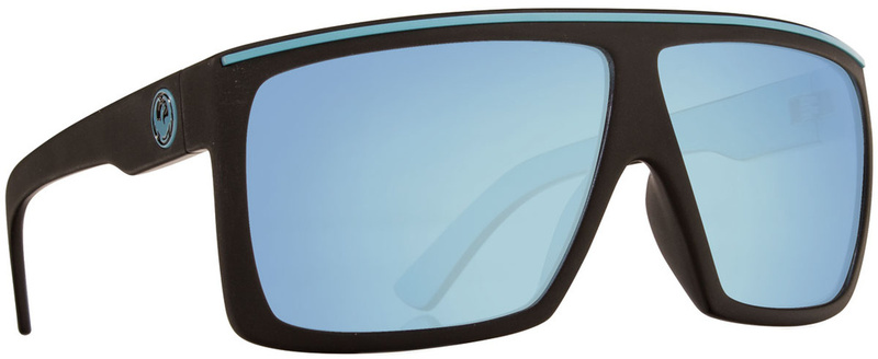 Dragon Fame Matt Blue with Sky Blue Ionised Lenses