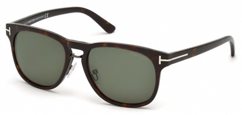 Tom Ford Sunglasses 346 Havana Green Lenses