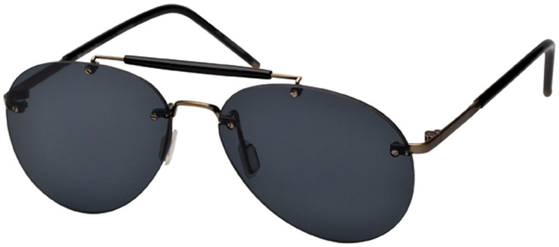 Ksubi Hydor Dirty Gold Black with Smoke Lenses