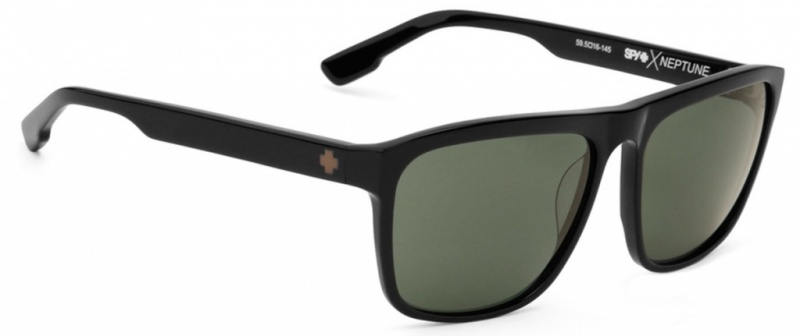 Spy Sunglasses Neptune black Happy Grey