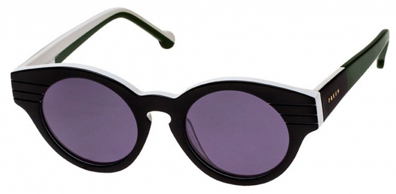 Preen Sunglasses Piccadilly Black Grey Lenses