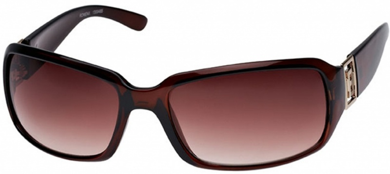 Fiorelli Rowena Chocolate and Gold with Brown Gradient Lenses
