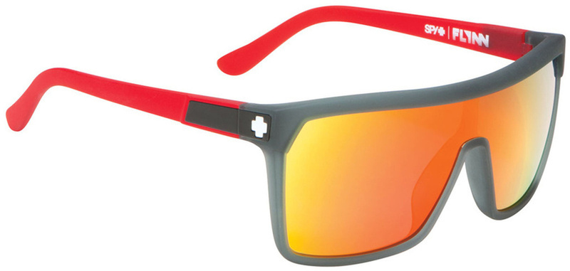 Spy Flynn Sunglasses Cherry Bomb Grey Red Spectra