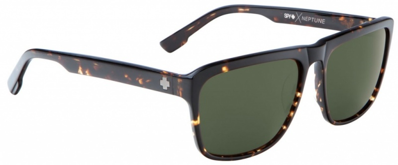 Spy Sunglasses Dark Tort Happy Grey Green