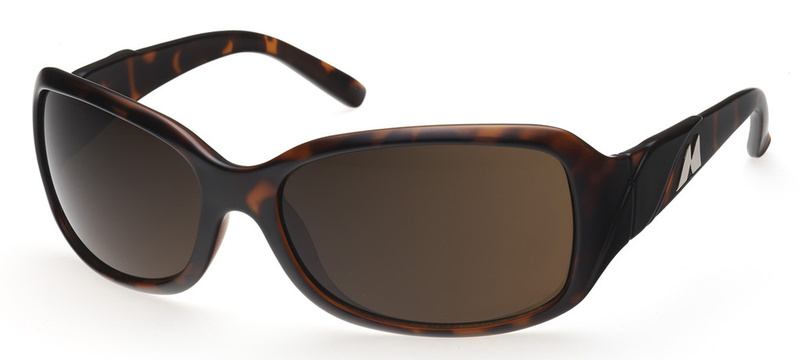 Mako Wave Sunglasses Wave with Brown Lenses