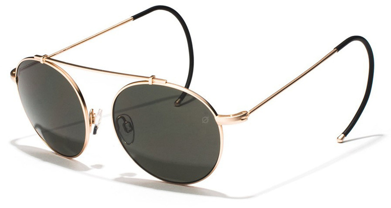 Epokhe Sunglasses XOA Antique Gold, Grey