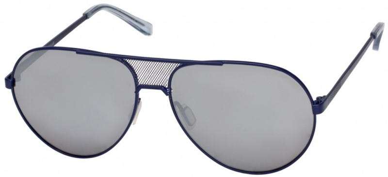 Ksubi Zahiah Silver Black with Grey Smoke Mono Lenses
